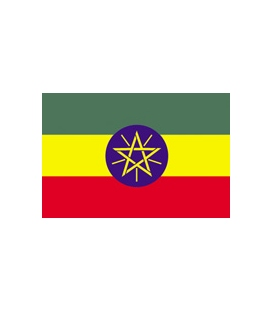Ethiopia Courtesy Flag
