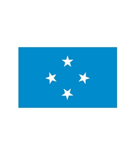 Micronesia Courtesy Flag