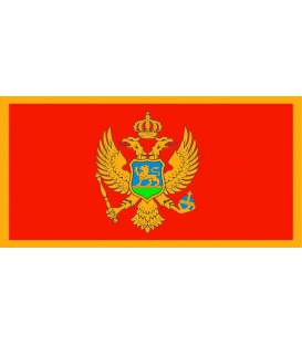 Montenegro Courtesy Flag