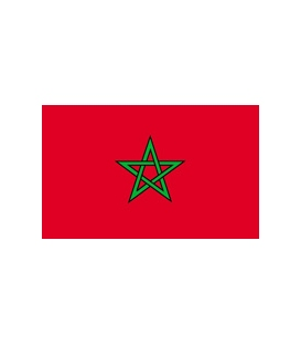 Morocco Courtesy Flag