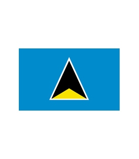 St. Lucia Courtesy Flag