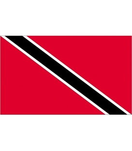 Trinidad & Tobago Courtesy Flag