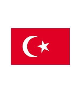 Turkey Courtesy Flag