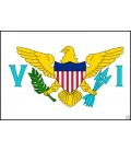 U.S. Virgin Islands Courtesy Flag