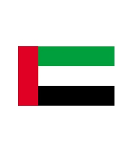 United Arab Emirates Courtesy Flag