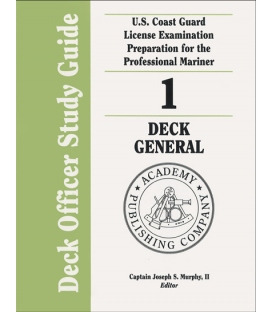 Murphy's Deck Officer Study Guide Vol. 1 - Deck General 2010-2011 Edition