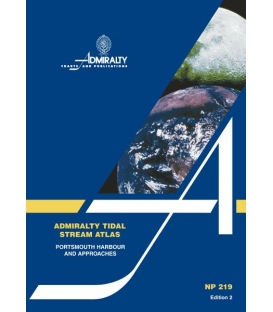 NP219 Admiralty Tidal Stream Atlas Portsmouth Harbor and Approaches, 2nd Edition 1991