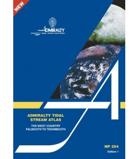 NP254 Admiralty Tidal Stream Atlas The West Country, Falmouth to Teignmouth, 1st Edition 2003