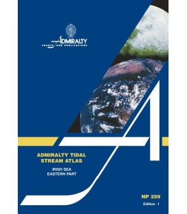 NP259 Admiralty Tidal Stream Atlas Irish Sea Eastern Part, 1st Edition 2006