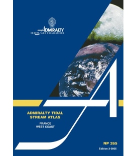NP265 Admiralty Tidal Stream Atlas France, West Coast, 2nd Edition 2006