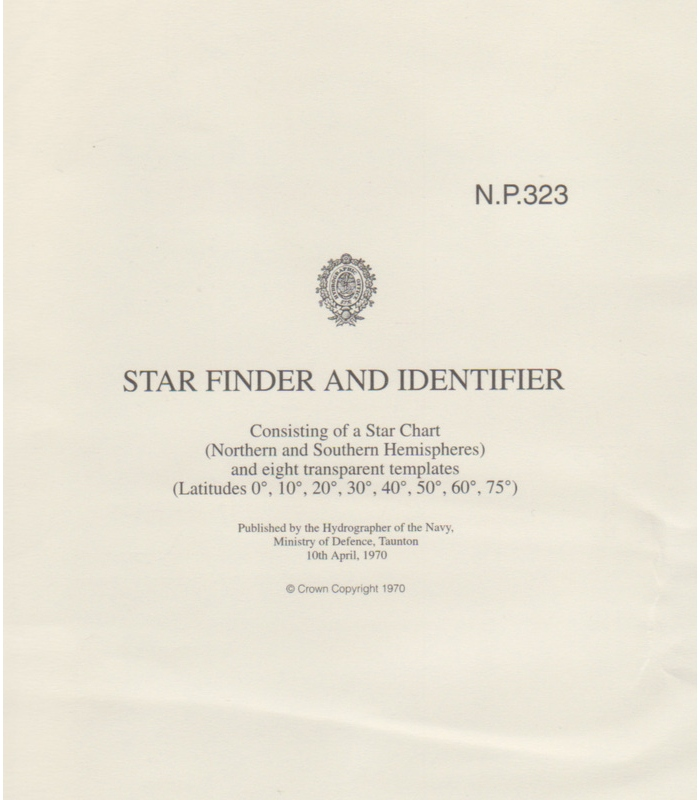 Np323 Star Finder And Identifier 1958 Edition