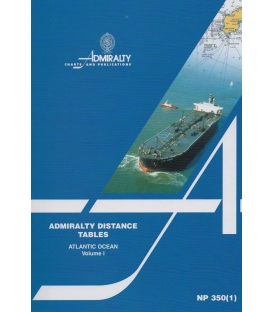 NP 350(1): Admiralty Distance Tables - Indian Ocean