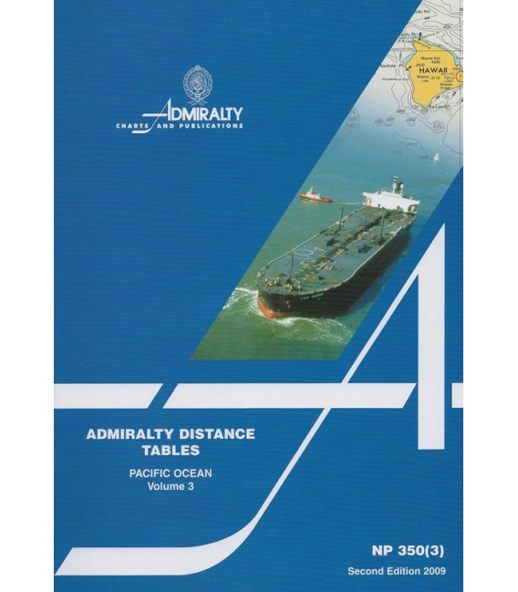 NP 350(3): Admiralty Distance Tables - Pacific Ocean
