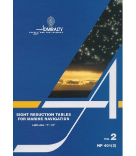 NP 401(2): Sight Reduction Tables for Marine Navigation Vol 2 Lat 15° - 30°, 1983 Ed.