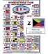 Browns International Code of Signals Card (Large)