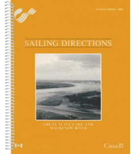 P120: Great Slave Lake and Mackenzie River, 7th Edition 1989
