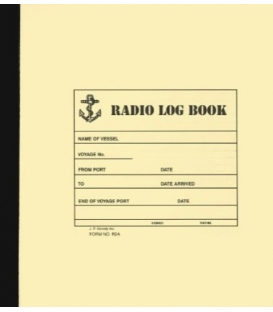Radio Log Book (Form No. R2A)
