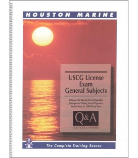 USCG License Exam Questions & Answers: General Subjects, 1996 Edition