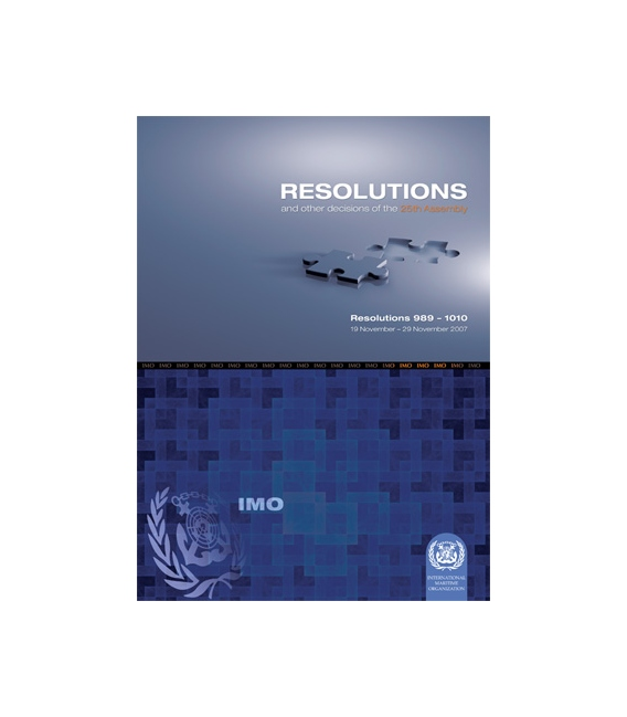 Resolutions: 25th Session 2007 (Res. 989-1010)