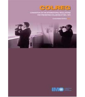 IMO IB904E Collision Regulations Convention (COLREGS), 2003 Edition