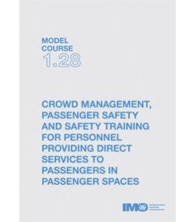 IMO T128E Model Course Crowd Management & Passenger Safety, 2000 Edition