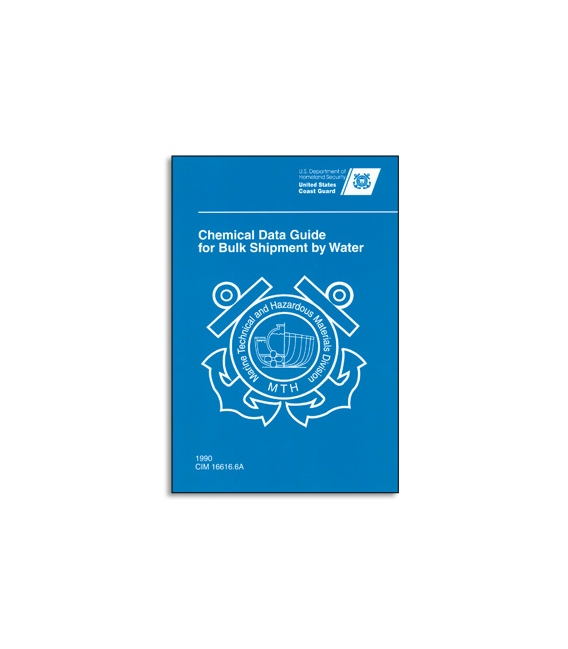 USCG Chemical Data Guide Book for Bulk Carriers (Spiral)