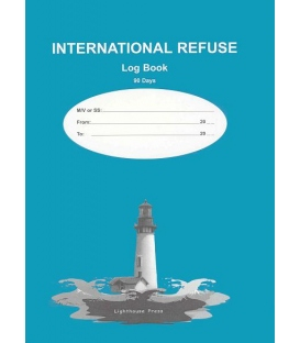 International Refuse Log Book (90 Days)