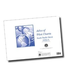 Pub. 107 - Atlas of Pilot Charts South Pacific Ocean, 2nd Ed., 1998 (Revised & Corrected through NGA NM 01/2011)
