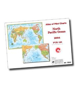 Pub. 108 - Atlas of Pilot Charts North Pacific Ocean, 3rd Ed., 1994 (Revised & Corrected through NGA NM 01/2011)
