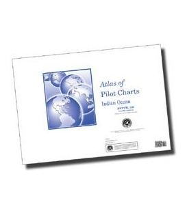 Pub. 109 - Atlas of Pilot Charts-Indian Ocean, 2001