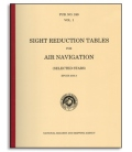 Pub 249, Volume 3: Sight Reduction for Air Navigation (Latitudes 39°-89° Declinations 0°-29°)