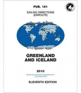 Sailing Directions Pub. 181 Greenland and Iceland, 11th Edition (2010)