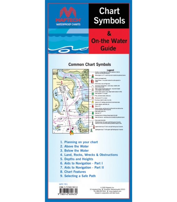 CHART SYMBOLS AN ON-THE-WATER GUIDE