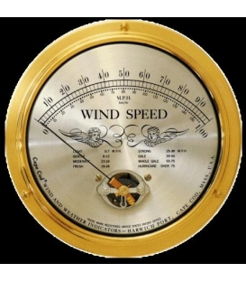 Cape Cod Wind Speed Indicator WITH Peak Gust