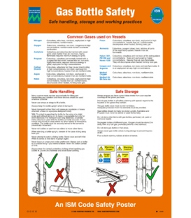 1032 Poster, Gas bottle safety