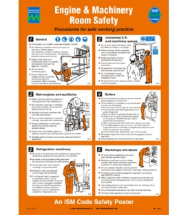 1035 Poster, Engine Room Safety
