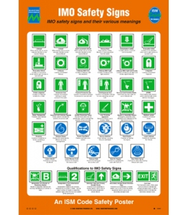 1036 Poster, IMO safety signs