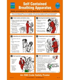 1047 Poster, Self contained breathing apparatus