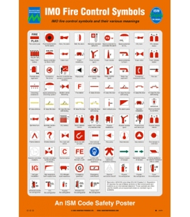 1057 Poster, IMO Fire Control Symbols