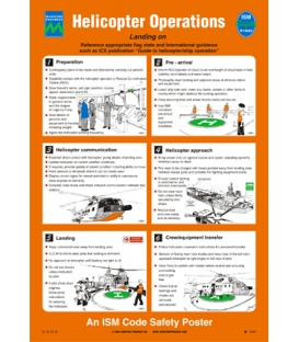 1078 Poster - Helicopter Operations - Landing on
