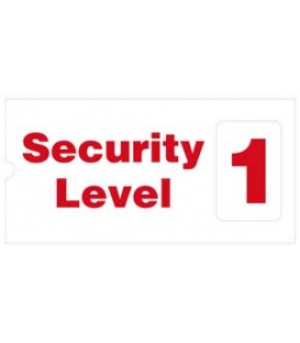 2703 Security level indicator