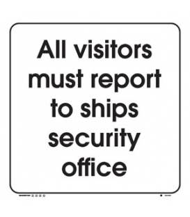 2894 All visitors must report to the ships security office