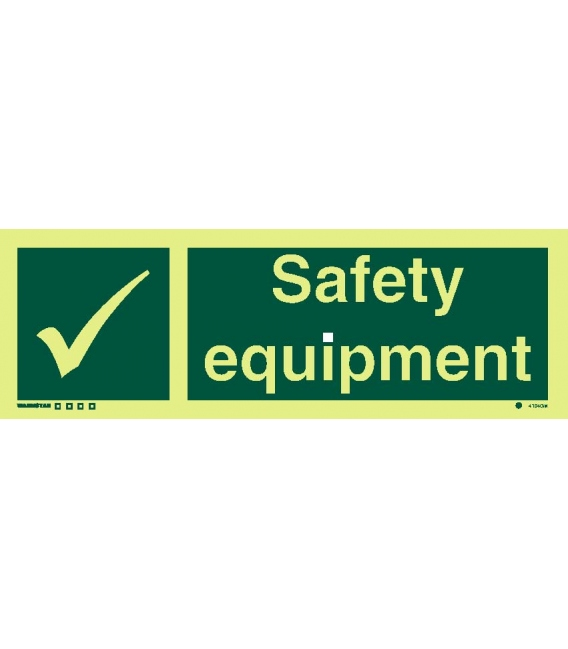 Safety Signs Photoluminescent Rigid Pvc Safety