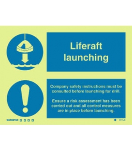 5111 Liferaft Launching + Procedure