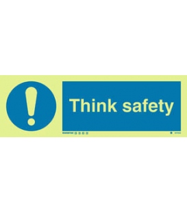 5675 Think safety + symbol