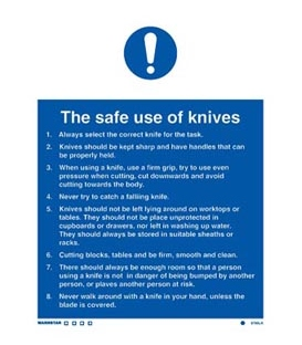 5765 The safe use of knives