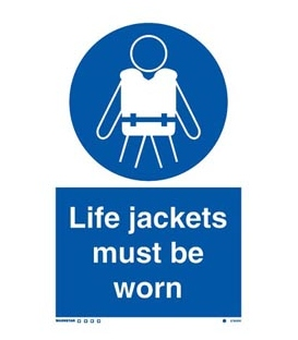5790 Life jackets to be worn