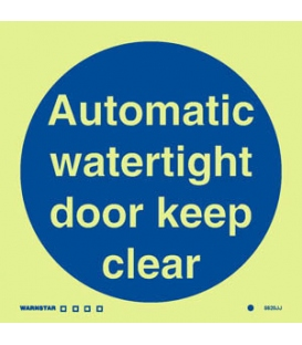 5820 Automatic watertight door keep clear