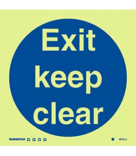 5822 Exit keep clear
