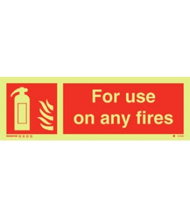 6163 For use on any fires + symbol